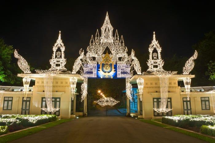 Дворец Читралада в Таиланде