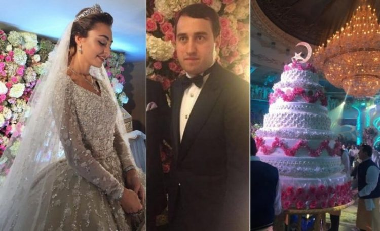 Свадьба Хадижи Ужаховой и Саида Гуцериева