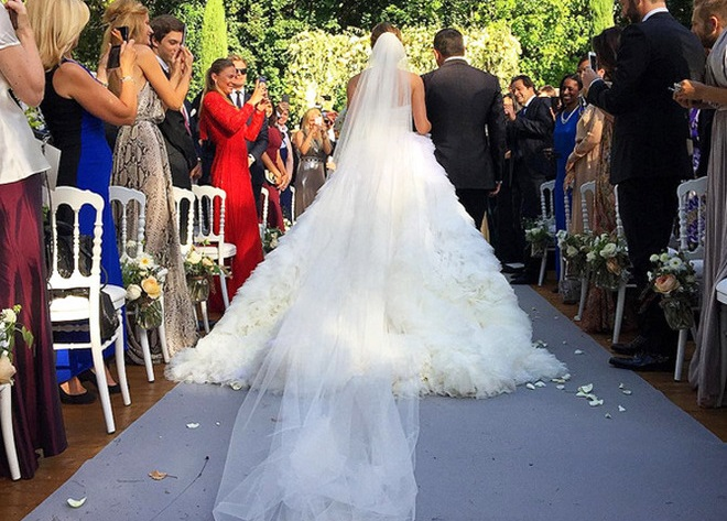 Свадьба Марии Байбаковой и Адриена Фора