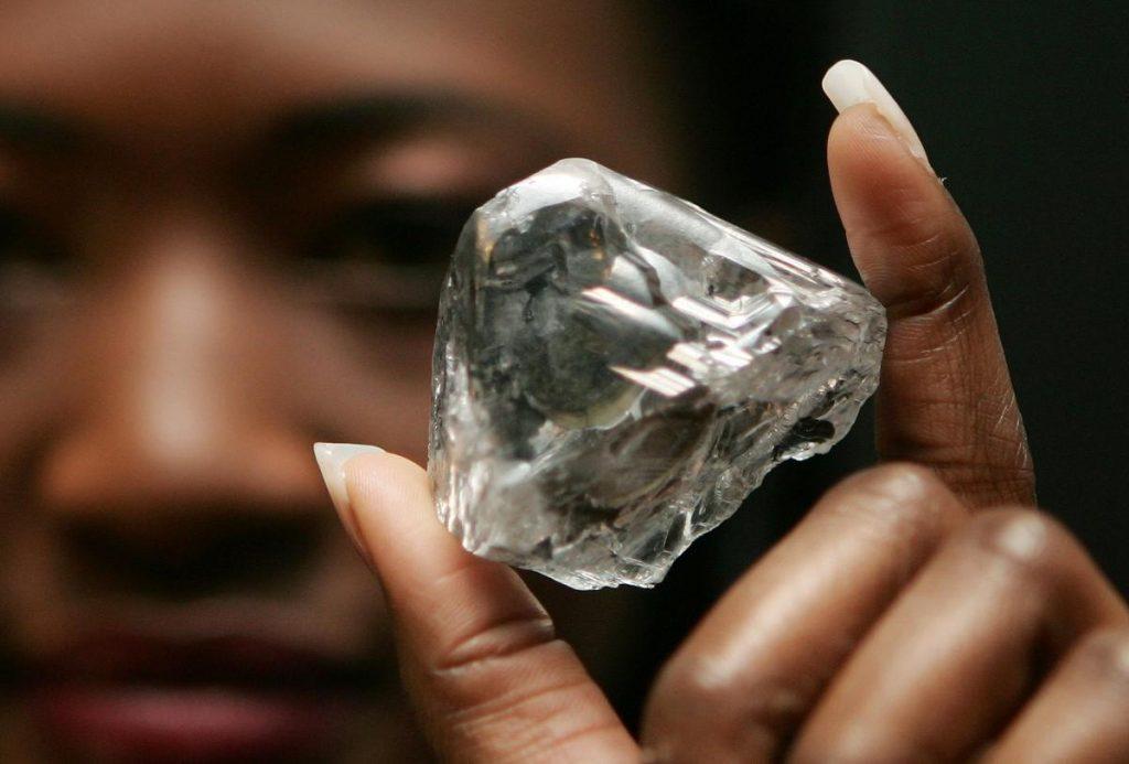 кровавый путь алмазов