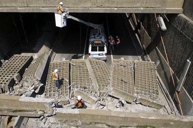 Тоннель Виль-Мари, Монреаль, Канада
