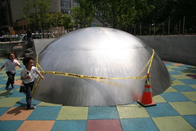 Детская площадка Pier One, Бруклин, Нью-Йорк