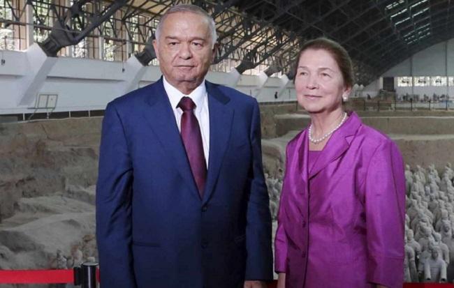 Первая леди Узбекистана - Татьяна Каримова