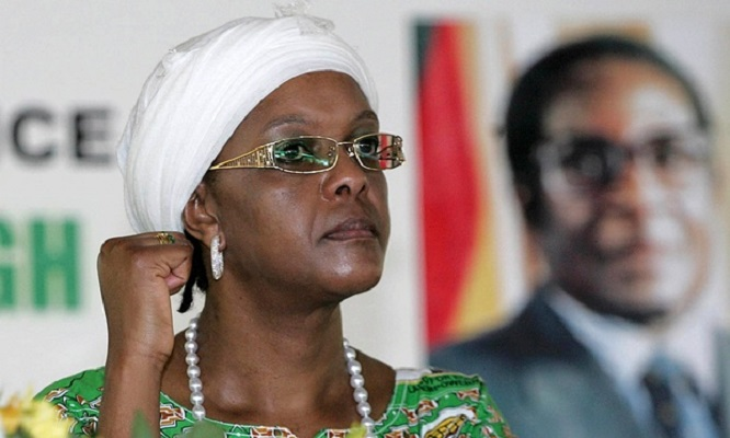 Первая леди Зимбабве - Грейс Мугабе