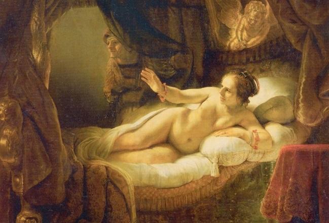 Лицо «Данаи» Рембрандта