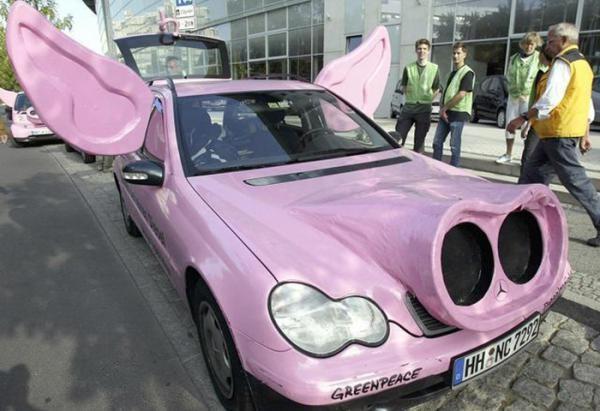 Самый креативный тюнинг авто, 50 фото