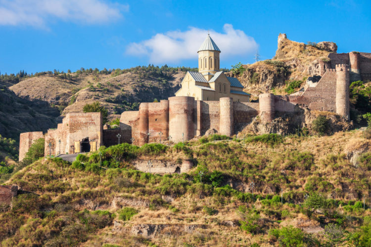 40 прекрасных мест в туристической Грузии