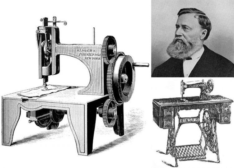 История о том, как женофоб Зингер случайно создал швейную машинку
