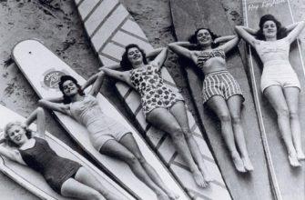 1940_retro foto krasivyye devushki v kupal'nikakh