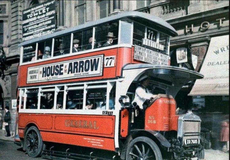 Редкие цветные фотографии довоенного Лондона: 30 снимков