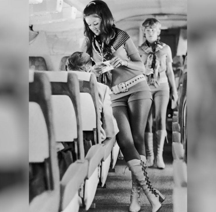 krasivyye styuardessy 1960-kh - 1980-kh godov