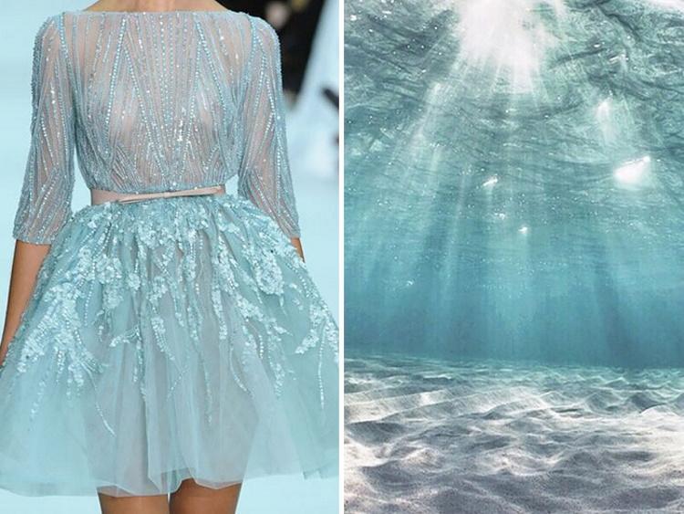 Художница сравнила дизайнерские платья с природой: 30 уникальных фото