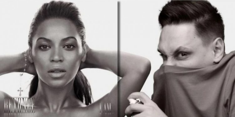 """Фотошопер """"украшает"""" собой обложки альбомов мировых звёзд"""